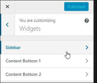 Customize your WordPress widgets