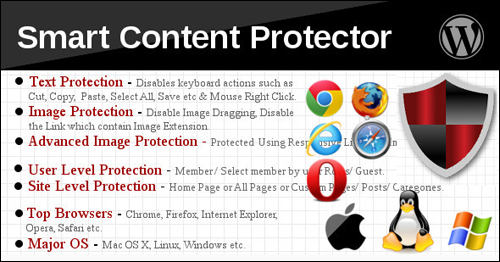 Smart Content Protector Pro - WordPress Copy Protection