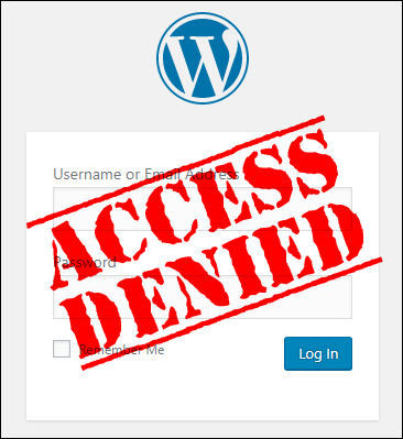 Are you locked out of your WordPress admin area?