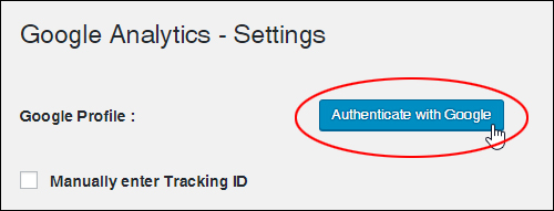 Authenticate with Google