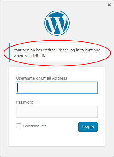 Do you keep getting logged out of WordPress?